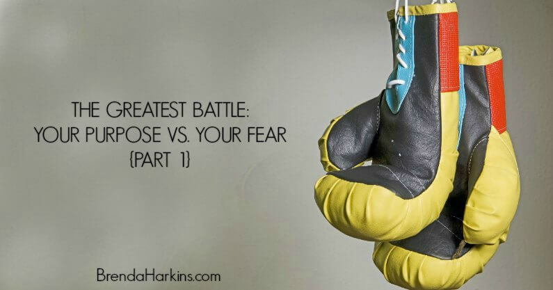 The Greatest Battle: Your Purpose Vs. Your Fear {Part 1}