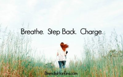 Breathe. Step Back. Charge.